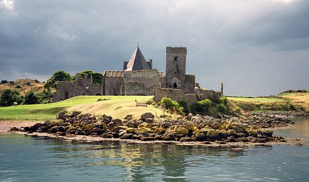 Inchcolm Island and Abbey Firth of Forth, Scotland