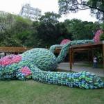 Скульптура «Жирной обезьяны» в Сан-Паулу