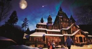 Снежный отель в Хундерфоссен. Экстрим по - норвежски.