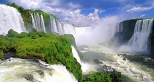 Великолепные водопады Игуасу