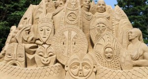 Музей песчаных фигур в Японской префектуре Тоттори