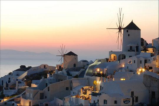 Oia, Santorini_romantic