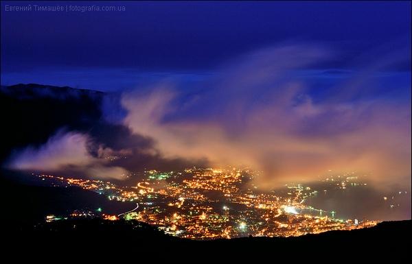 Ночь в Ялте