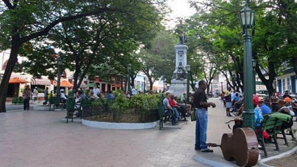 Туристы в Сантьяго