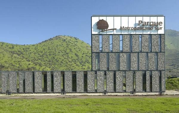 Каменный фасад Metropolitano