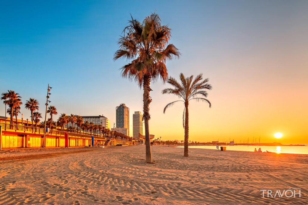 пляж барселоны Somorrostro для аристократов и дегенератов