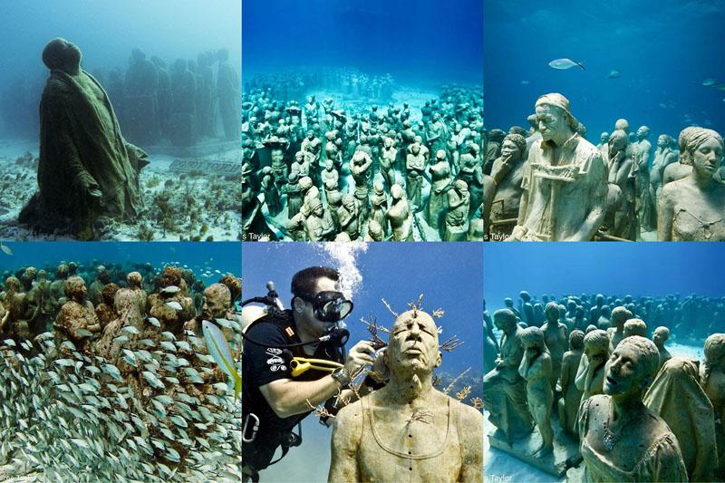 искусственный риф в заливе Молиньере