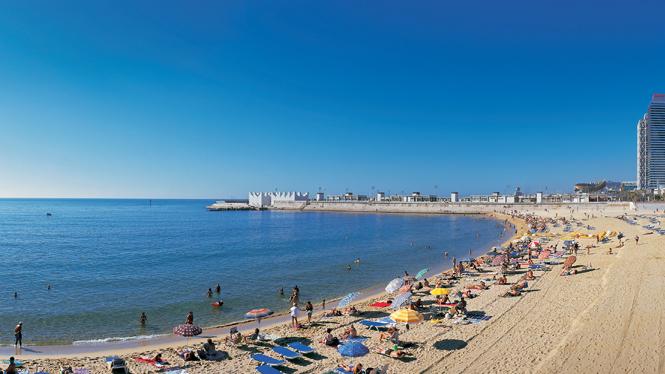 nova-icaria барселона пляж