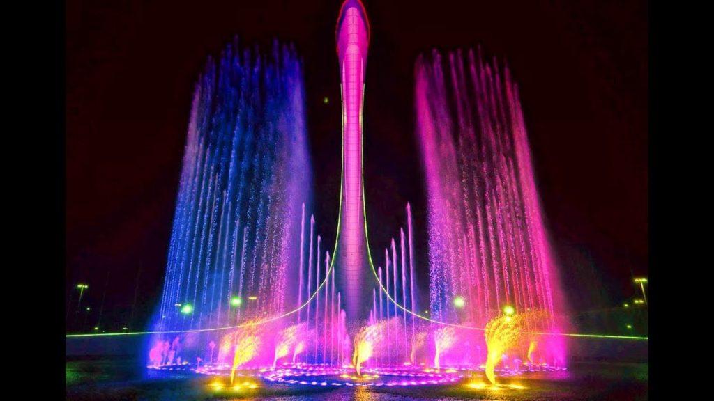 светомузыкальный чудо-фонтан
