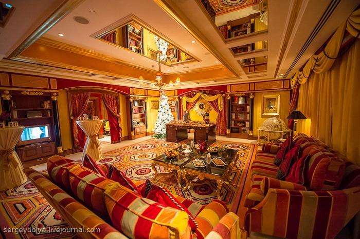 """Обзор отеля """"Парус"""" в Дубае (Бурдж-Аль Араб, 7 звёзд): описание, фото, видео, цена номера"""