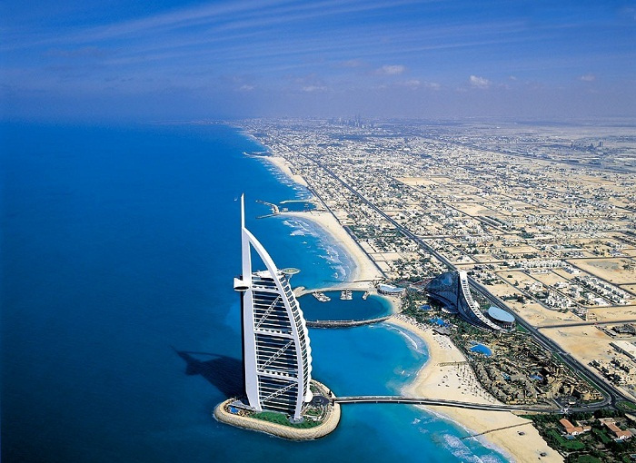 Все главные достопримечательности города Дубай