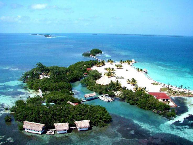 острова барьерного рифа