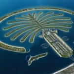 Пальма Джумейра в Дубае (ОАЭ) — история строительства, современный вид острова на фото