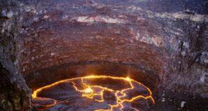 эфиопия огненное озеро