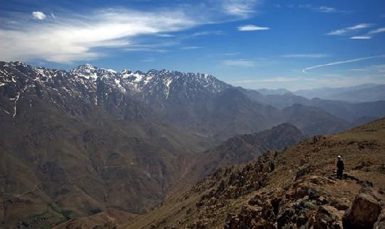 Гора Тубкаль Марокко