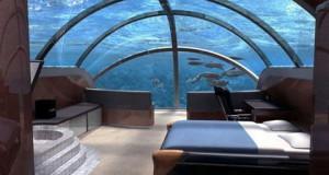 """Подводный отель """"Посейдон"""" недалеко от Фиджи"""