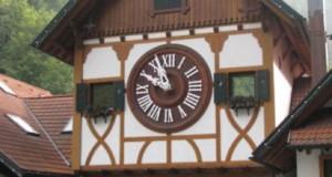 Германия. Музей деревянных часов в Триберге