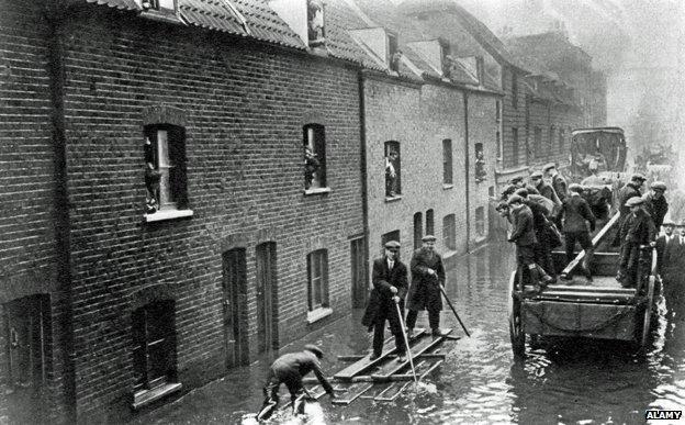 Наводнение в Лондоне 1928 года