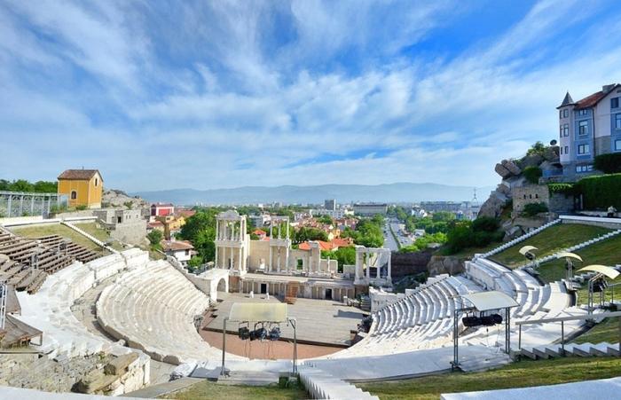 Амфитеатр в Пловдине