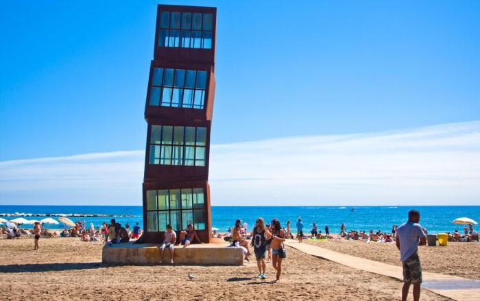 Sant Miquel пляж барселона