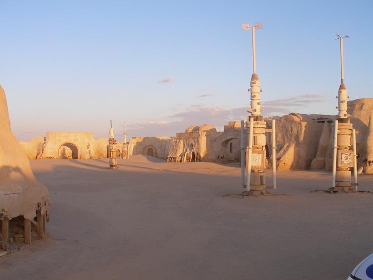 Декорации к «Звёздным войнам»