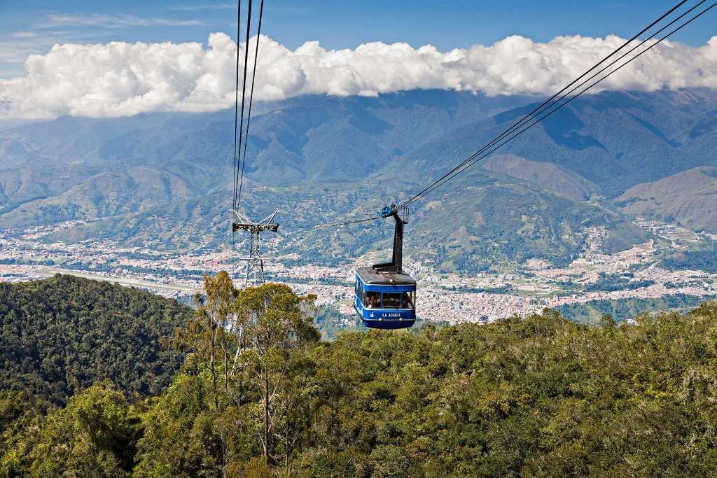 Канатная дорога Мерида (Merida Cable Car)