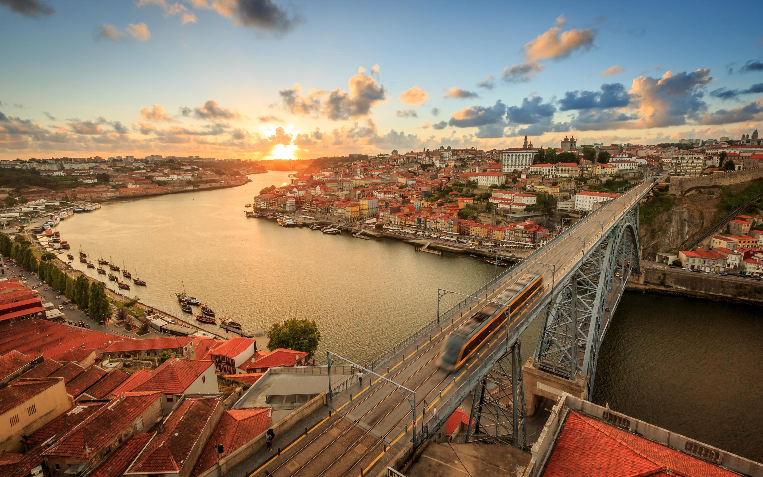 Обои Португалия, старый город, порто. Города foto 18