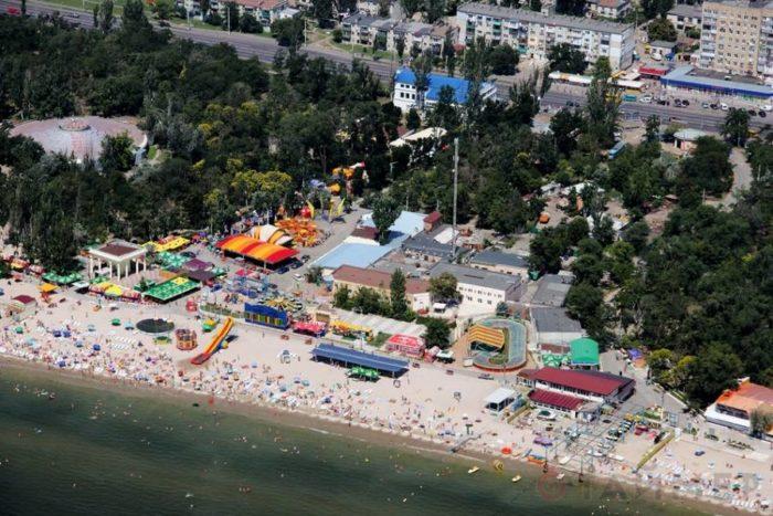 Лузановка пляж
