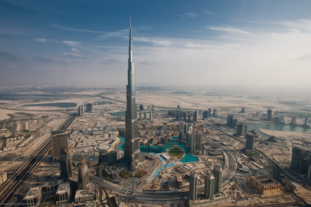Башня Бурдж-Халифа в Дубае (ОАЭ) - обзор самого высокого здания в мире