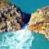 Горизонтальные водопады у побережья Кимберли в Австралии