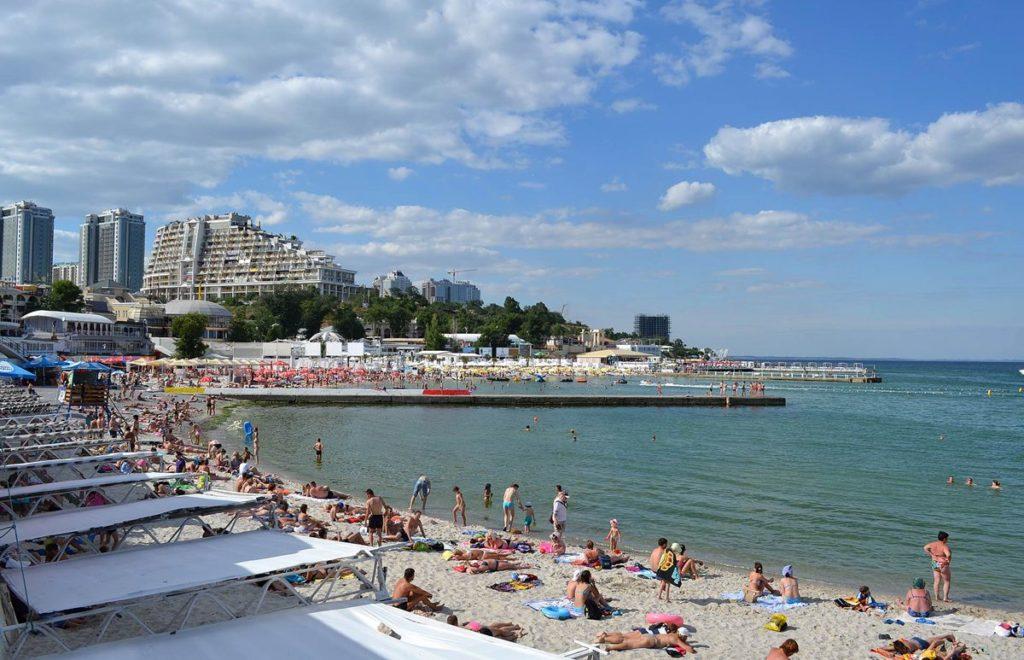 Пляж аркадия одесса фото