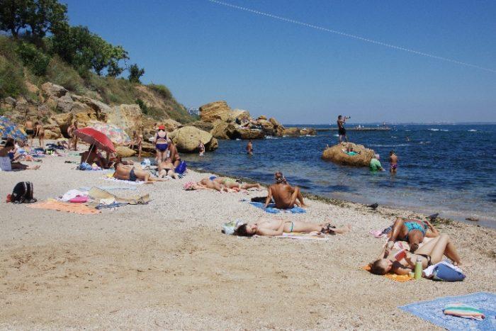 дикий пляж в Одессе