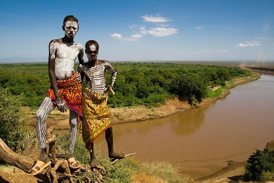 Долина реки Омо. Эфиопия